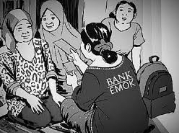 Bank Emok Kembali Berulah di Sukamantri Garut Kota