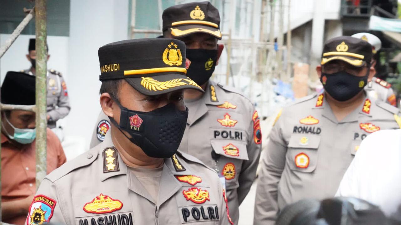 Kurangi Dampak PPKM Darurat Polda Jateng Gelontorkan Bansos 385.000 ton Beras