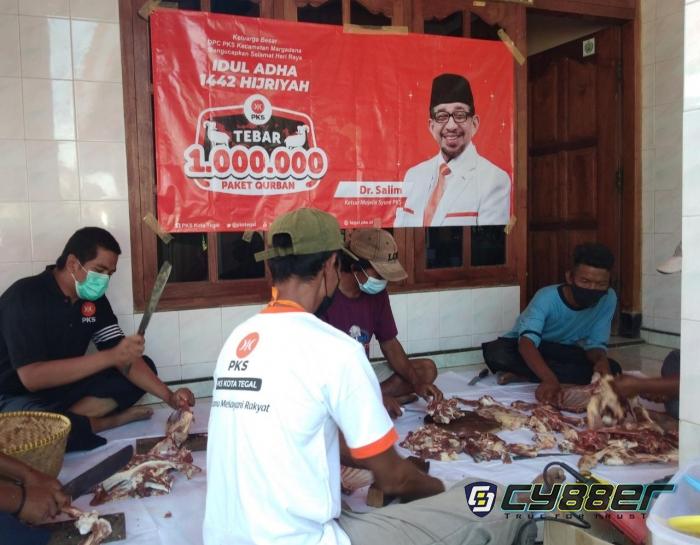 PKS Kota Tegal Turut Sukseskan Program Tebar Satu Juta Kurban