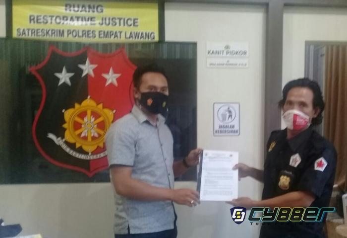 Lembaga KPK Laporkan Beberapa Sekolah di Kecamatan Muara Pinang.