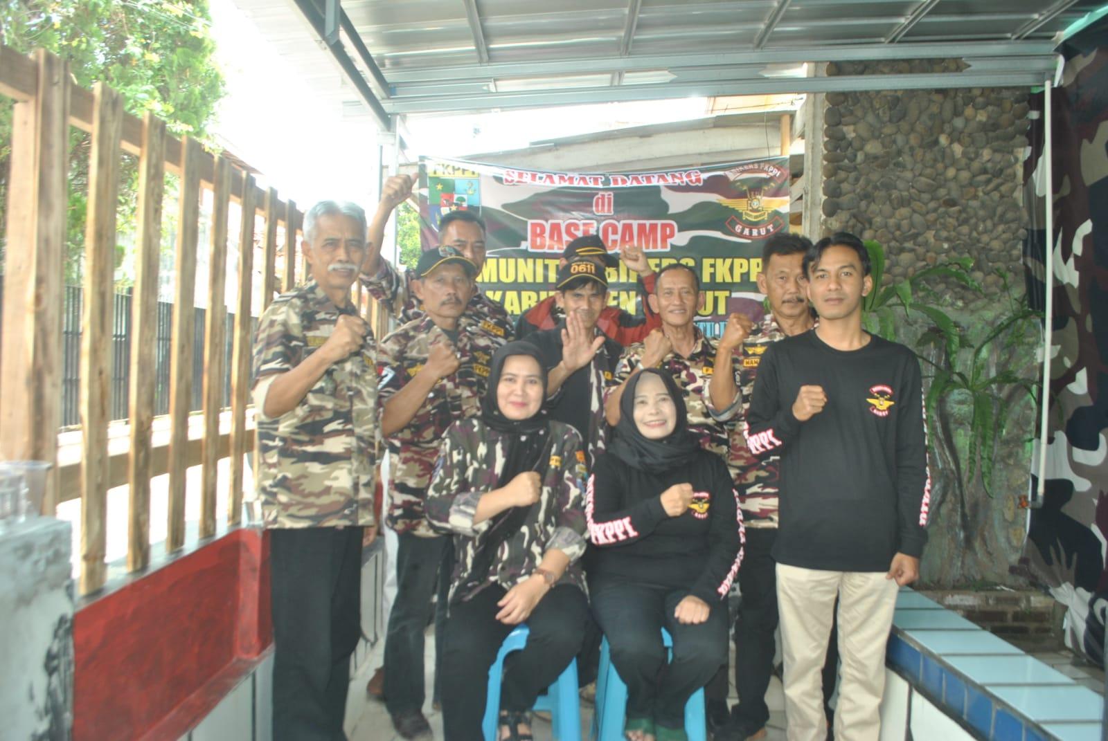 Ketua KB-FKPPI Kabupaten Garut Resmikan Sekretariat Komunitas Bikers FKPPI