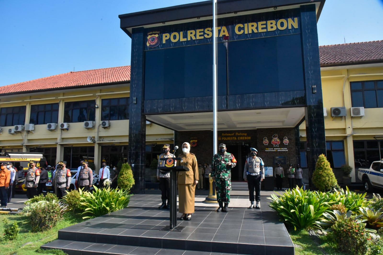 Wakil Bupati Cirebon Pimpin Apel Gelar Pasukan Operasi Sangkan Jati