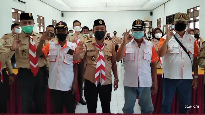 Jumadi Wakil Walikota Buka Jota - Joti Jambore di Kwarcab Kota Tegal