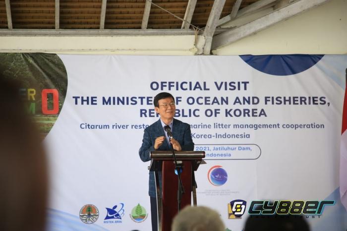 Kunjungan Minister of Oceans and Fisheries Republic of South Korea ke Waduk Jatiluhur