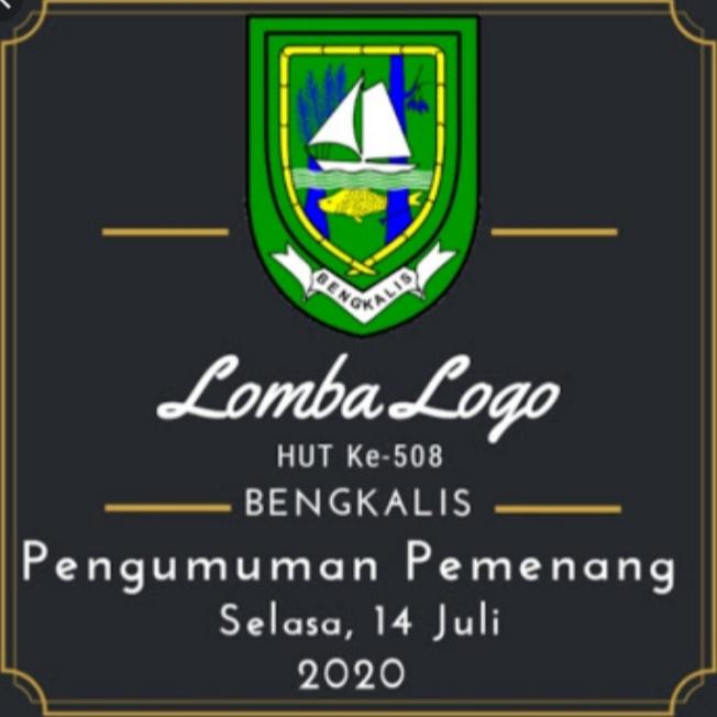 Dari 120 Peserta Pemkab Bengkalis Umumkan Pemenang Sayembara Logo Hut Kabupaten Bengkalis
