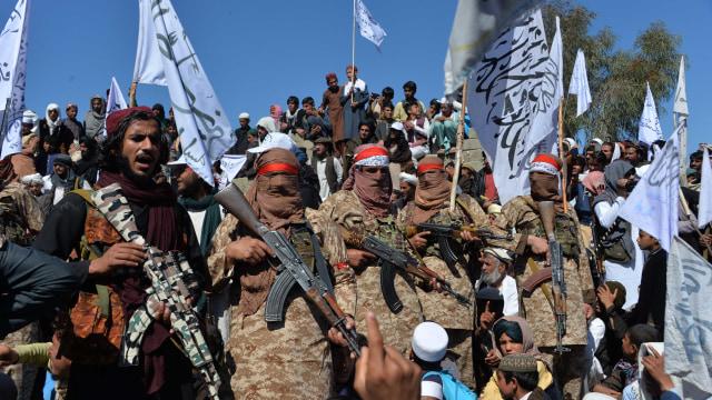 Kelompok Teroris Taliban Klaim Kuasai 85 Persen Wilayah Afghanistan