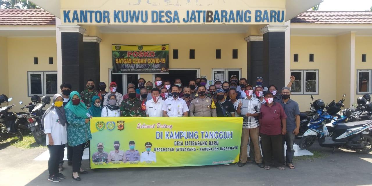 Tiga Pilar Kecamatan Jatibarang Terus Mendisiplinkan Masyarakat Di Fase Akb
