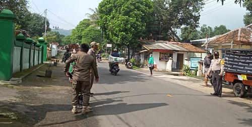 14 Orang Pelanggar Prokes, Terjaring Ops Yustisi Tiga Pilar Kecamatan Buahdua