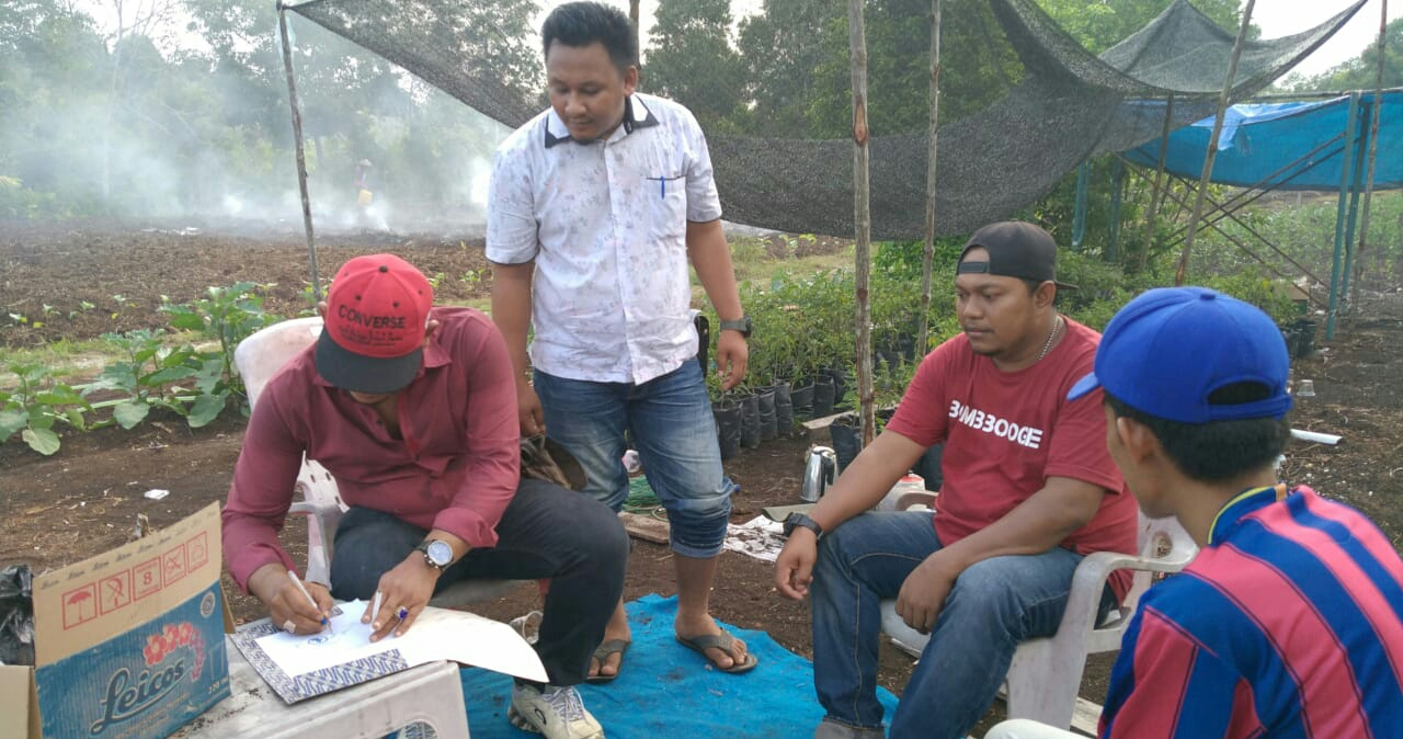 Ketua DPD APPI Riau Romi, Sah Berikan Surat Mandat Kepada Raja Erik RF