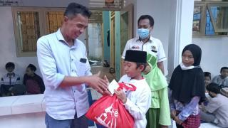 Persatuan Wartawan Indonesia (PWI) Kota Cilegon adakan Bukber serta Santuni Anak Yatim