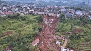 Diduga Ada Kesalahan Drainase di Longsor Cimanggung Sumedang