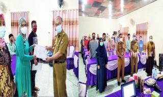 Dinas Kesehatan Kabupaten Mesuji Lakukan Penyuluhan Keamanan Pangan Rumah Tangga