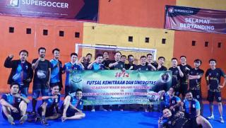 Jalin Sinergitas, PWI Majalengka dan Kejari Gelar Pertandingan Futsal