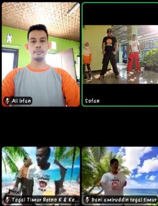 PKS Kota Tegal Gelar Senam Nusantara Bersama Keluarga Secara Virtual