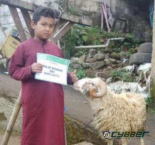 Heboh, Anak Yatim di Bogor Kumpulkan Uang Selama 2 Tahun untuk Beli Hewan Qurban