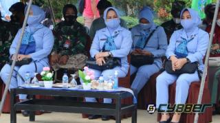 Ketua PIA AG Lanud Roesmin Nurjadin Hadiri Baksos Hari Bakti TNI AU