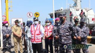 Efektifkan Intensivitas Vaksinasi Warga Maritim yang Tak Bisa Tinggalkan Tugas, TNI AL Terapkan Metode Ship to Ship