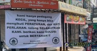 600 restoran dan 500 hotel di Bandung Besok Akan Kibarkan Bendera Putih