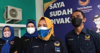 DPD Nasdem Kabupaten Garut Gelar Vaksinasi Gratis