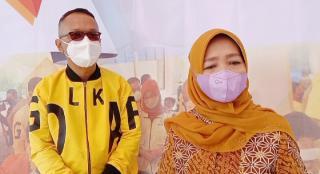 Hj. Teti Rohatiningsih Anggota DPR RI Kembali Gelar Vaksinasi