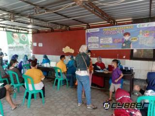 Masyarakat Desa Jatiseeng Kidul Cirebon Antusias Ikuti Vaksinasi, Kuwu : Kalau Bisa Kuota Ditambah Jangan Hanya 100