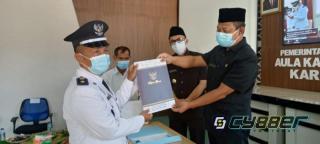 Pelantikan Kades Terpilih Tahap ll Gelombang l 2021 Kabupaten Garut Secara Virtual