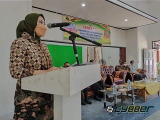 Rezita Meylani Yopi SE Hadiri Pembukaan Pelaksanaan Simulasi Pilkades Serentak