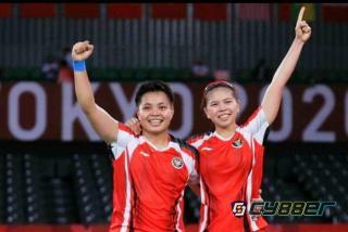 Greysia Polii / Apriyani Rahayu (Juara Olimpiade Tokyo 2020)