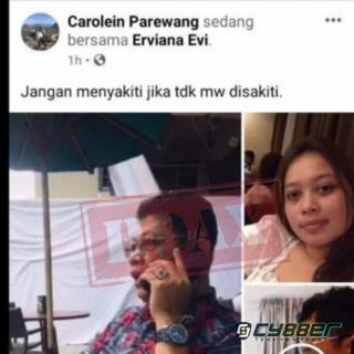 Beredar Foto Anggota DPRD Batam Mendua, Kerabat Amintas : Itu hoax!!