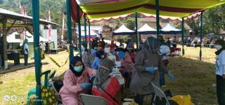Pemerintah Desa Warga Luyu Optimis Capai 80% Warga Mengikuti Vaksinasi