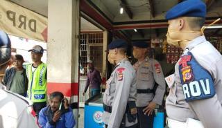 Antisipasi Kerawanan Kamtibmas, Sat Brimob Polda Jabar Gencarkan Patroli