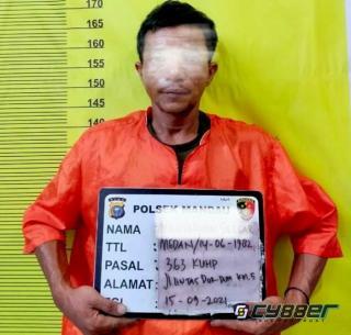 Dua Orang DPO Satu Maling di Tangkap Polsek Mandau