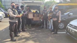Team Jawara Polrez Cilegon Amankan Ratusan Miras