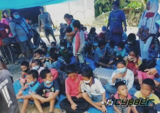 Balita dan Anak-anak Terlantar Akibat Konflik PT Padasa Enam Utama dengan Buruh