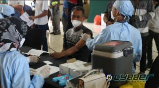 Vaksinasi Massal di BCS Cilegon, 1.500 Orang Disuntik Dosis Lengkap