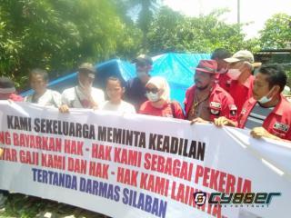 Aksi Solidaritas Ormas PBB Kepada Darmas Silaban, Karyawan Yang Dizolimi Sutikno