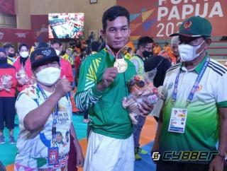Atlet Tarung Derajat Asal Sumut Sabet Emas, Marisi Merasa Bangga