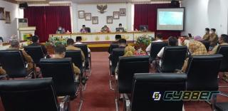 Kunjungan Kordinasi Anggota DPD RI, Ir. KH Abdul Hakim ke Pemkab Tanggamus