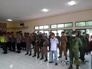 Jelang Pilkades Serentak, Kecamatan Arjasari Laksanakan Gelar Apel Pasukan