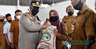 Vaksinasi Akabri 99 Polres Aceh Timur, Peserta Diberi Sembako dan Voucher