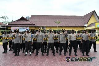 Polres Aceh Timur Gelar Apel Kendaraan dan Pasukan Dalmas