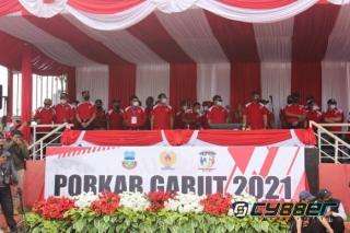 Pekan Olahraga Kabupaten Garut Tahun 2021 Resmi Dibuka