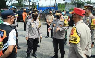 Wakapolda Jabar Gelar Pemantauan dan Penyekatan Operasi Ketupat Lodaya 2021