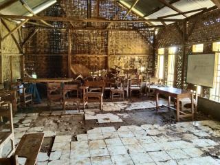 Memprihatinkan!  Lima Ruang Belajar Madrasah Ibtida Hancur