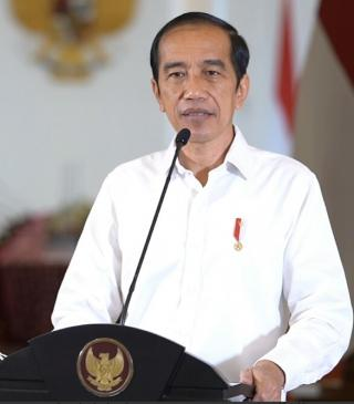 Joko Widodo ; Saya Pastikan Bahwa Sampai Bulan Juni 2021 Tidak Ada Beras Impor Yang Masuk ke Negara Indonesia