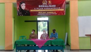 Anggota DPR RI Komisi VII Fraksi Gerindra Sosialisasikan 4 Pilar Kebangsaan dan UU Ketenagalistrikan