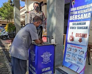 Dimasa Pandemi Covid-19 Bikin SIM di Polres Pekalongan Wajib Patuhi Prokes