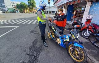 Hari Kedua Puasa, Puluhan Pelanggar Lalin di Ciamis Ditindak Polisi