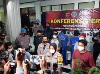 Pengedar Daun Ganja Berhasil Diringkus Polres Sukabumi Kota