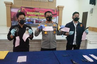 Pengungkapan Kasus Curanmor yang Beroperasi di Wilkum Polres Cimahi dan Polrestabes Bandung Polda Jabar